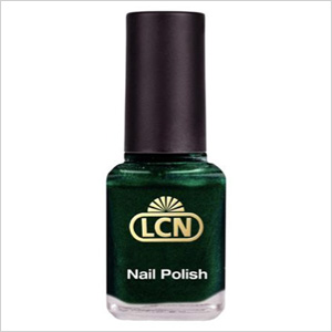 LCNs luxurious, velvet brilliant metallic green 