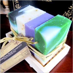 Heavenly, Cool Fresh Aloe Soap
