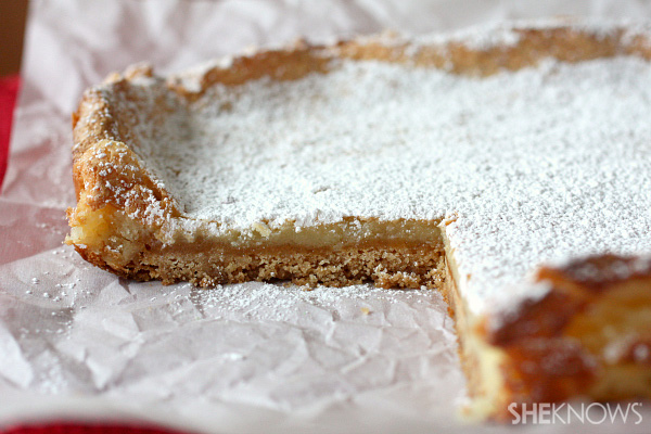 Gooey brown butter cake