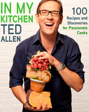 In Ted's kitchen
