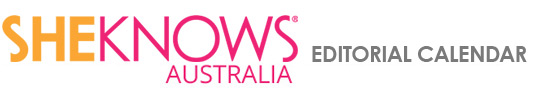 SheKnows Australia Editorial Calendar 2013