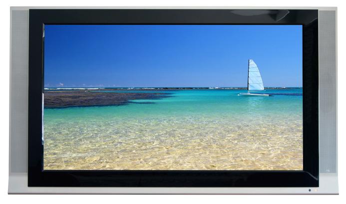 Beach on tv