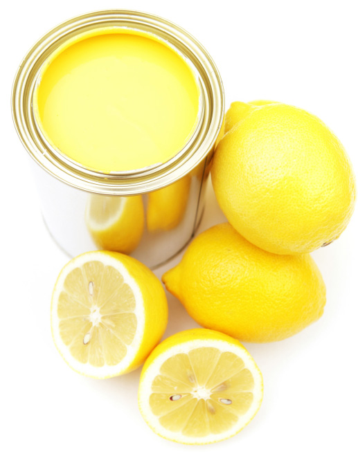 Lemon paint