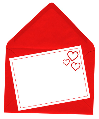 isolated valentine day card Valentines Day Fun Facts & History