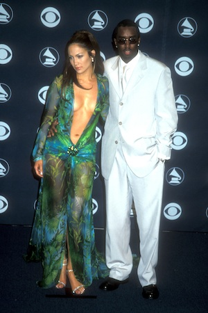 Jennifer Lopez at the 2000 Grammy Awards
