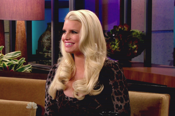 Jessica Simpson on the Tonight Show