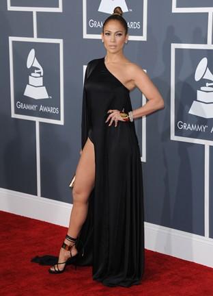 Jennifer Lopez at Grammy Awards 2013