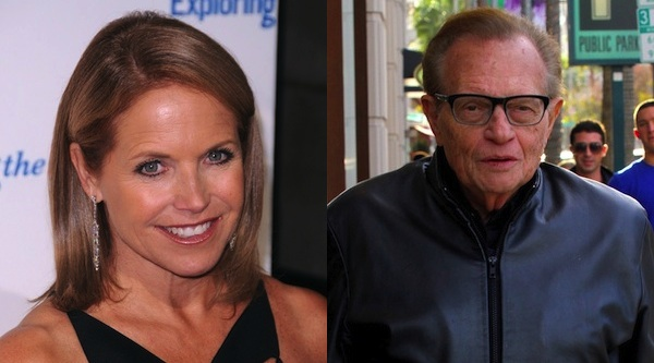 Katie Couric and Larry King