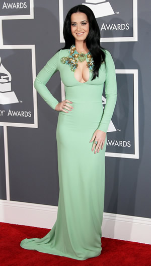 Katy Perry in Gucci at the Grammy Awards