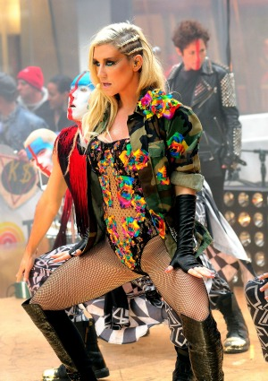 About the time Ke$ha drank her own urine