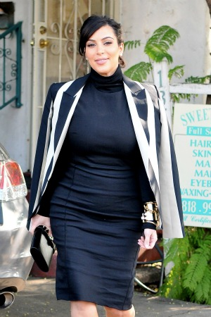 Kim Kardashian explains her maternity fashion choices
