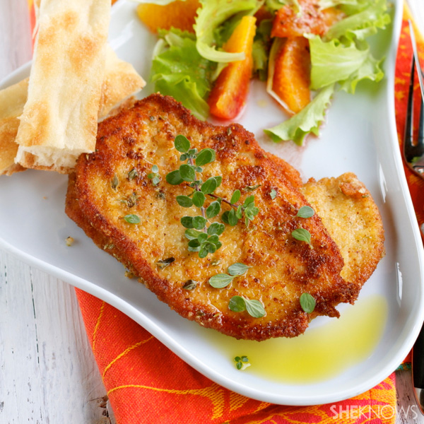 Lemon and oregano chicken fillet recipe