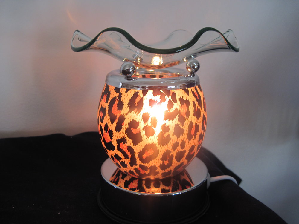 Leopard Oil Warmer