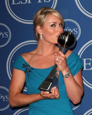 Lindsey Vonn at the Espy Awards