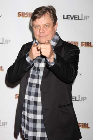 Mark Hamill at a premiere