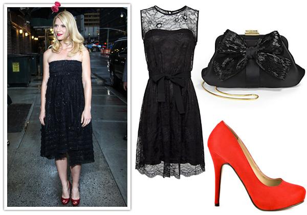 Claire Danes' party dress