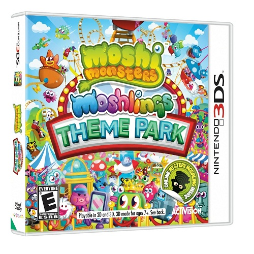 Moshi Monsters Nintendo 3DS Game