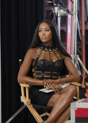 Naomi Campbell, The Face