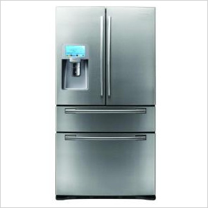 Samsung Refrigerator with LCD Display