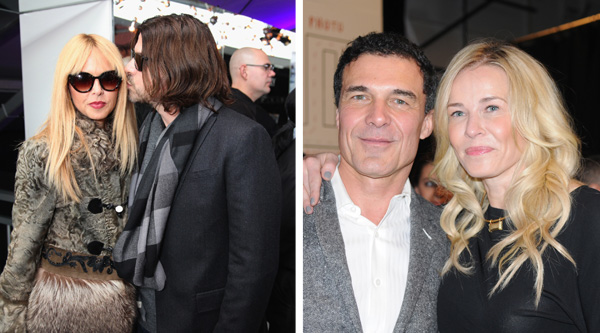 Rachel Zoe and Rodger and Chelsea Handler and Andre Balaz