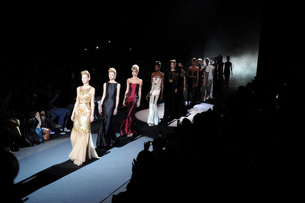 Badgley Mischka at NYFW 2013