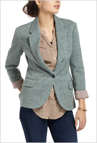 Dashes Knit Blazer (Anthropologie, $98)