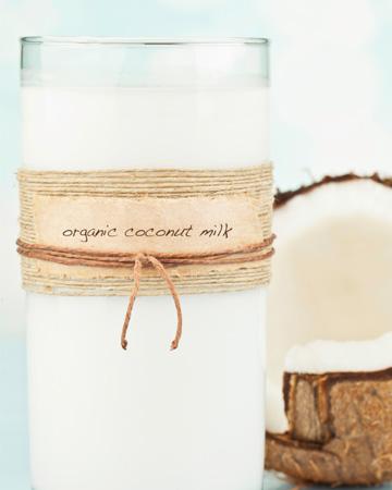 Cook with coconut milk!