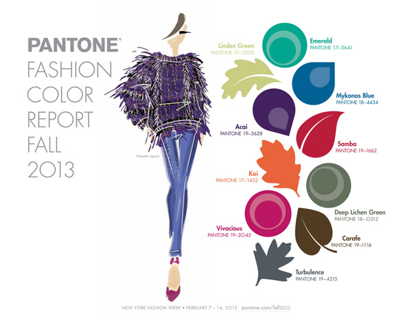 Winter Fashion Colors 2013