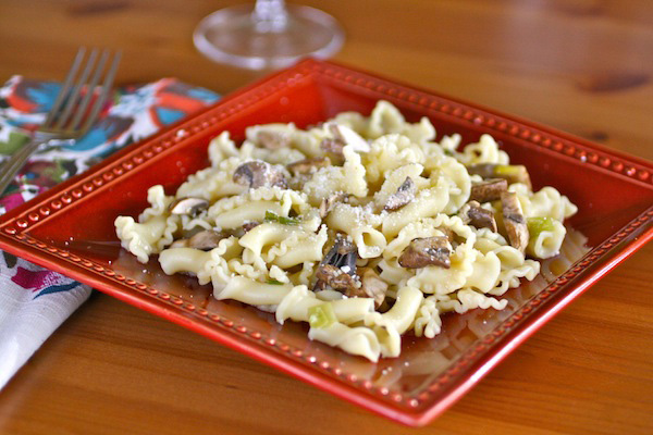 Meatless Monday: Pasta with cremini mushrooms
