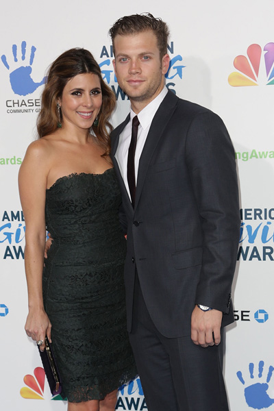 Pregnant Jamie Lynn Sigler and Cutter Dykstra