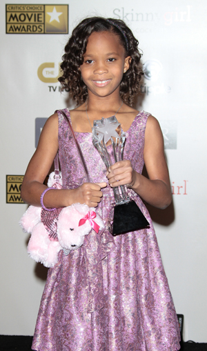 Quvenzhané Wallis at awards show