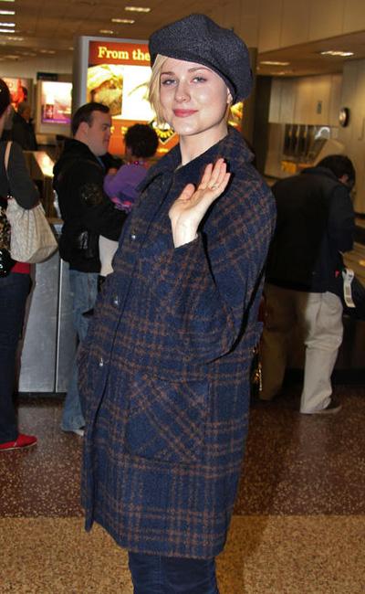 Pregnant Evan Rachel Wood