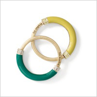 Technicolor bangle (Liasophia.com, $98)