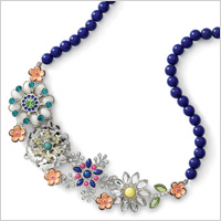 Full bloom Necklace (Liasophia.com, $98)