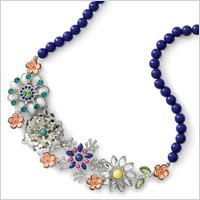 Full bloom Necklace (Liasophia.com, $98)