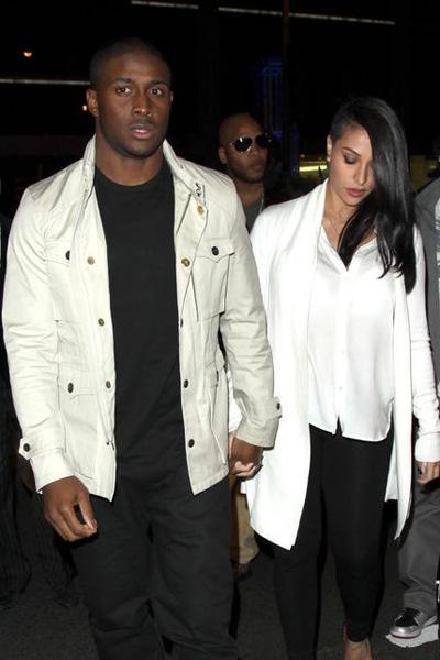 Reggie Bush and pregnant girlfriend Lilit