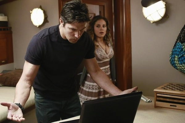 Nate searches for the leverage against Conrad