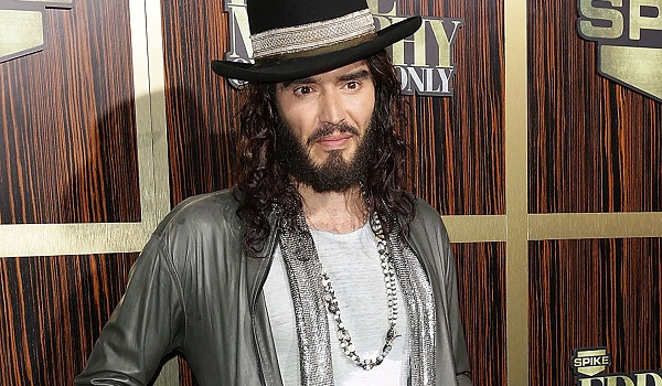 Russell Brand has an irish temper