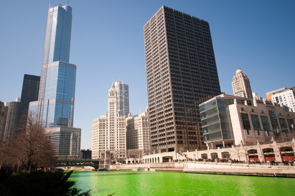Saint Patrick's Day in Chicago