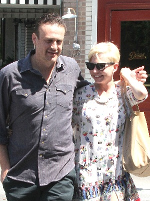 Jason Segel and Michelle Williams split up