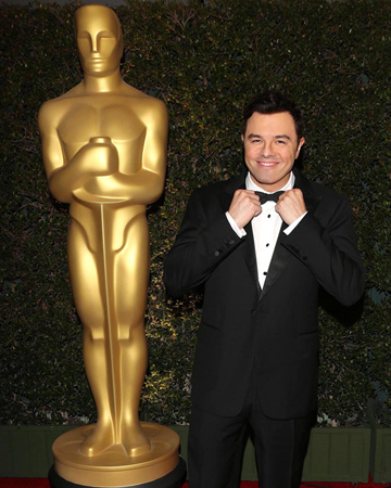 Seth MacFarlane at the Governors Awards