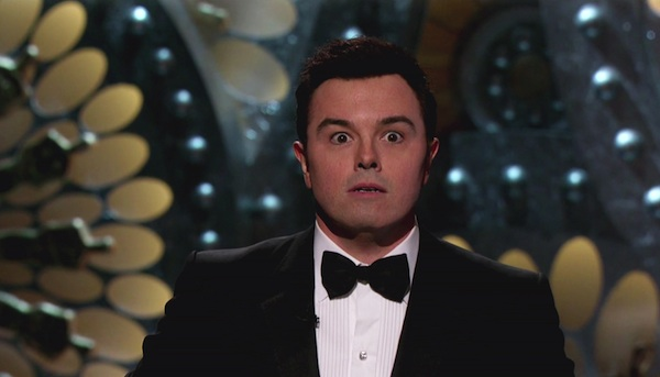 Seth MacFarlane hosts the 2013 Oscars.