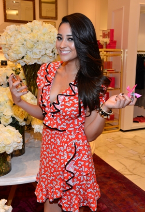 Shay Mitchell, Juicy Couture, Couture La La launch