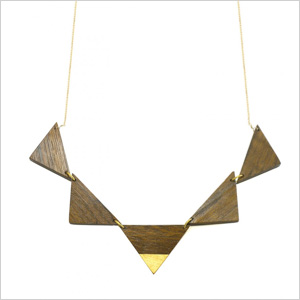 Sophia Monet Gilded Triad Collar