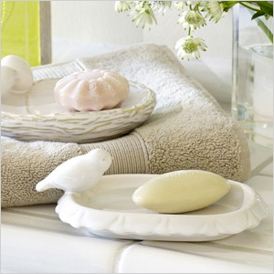 Pottery Barn's Whimsical Spring Soap Dishes