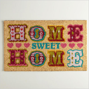 World Market's Home Sweet Home Doormat
