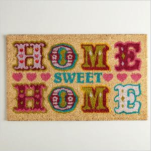 World Market's Home Sweet Home Doormat