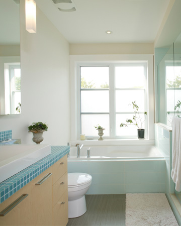 Sparkling bathroom
