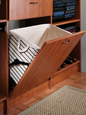 pull-out hamper from ClosetMasters.com