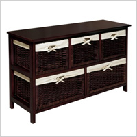 Badger Basket Five Basket Storage Unit